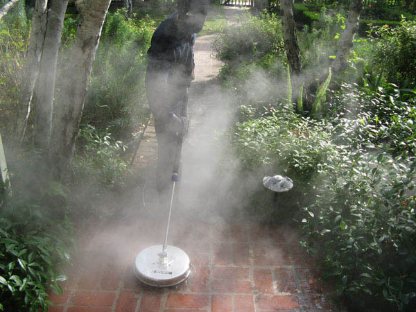 Pressure Washing Surface Cleaning Brick